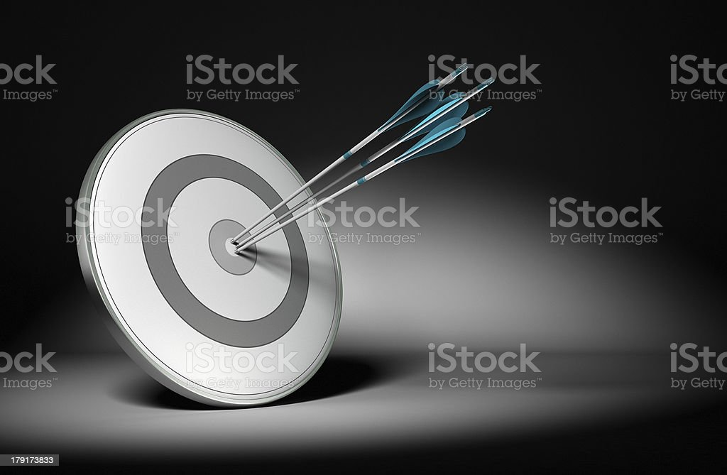 Successful Company Objectives - Business Concept stock photo