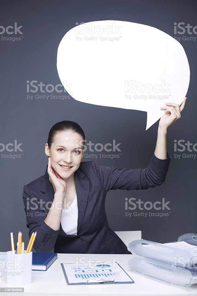 Successful employee royalty-free stock photo
