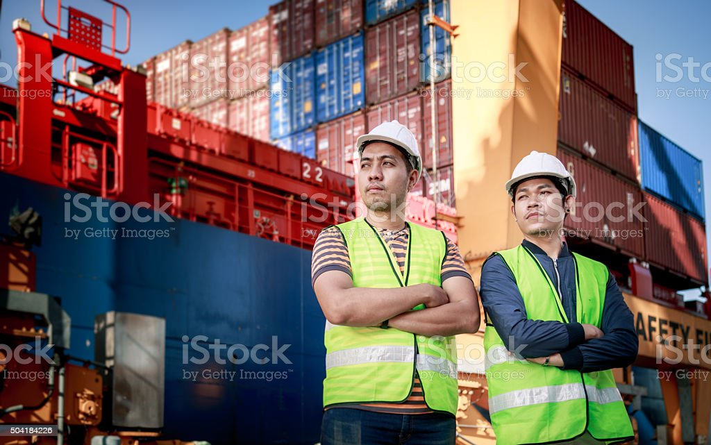 Successful Engineer stock photo