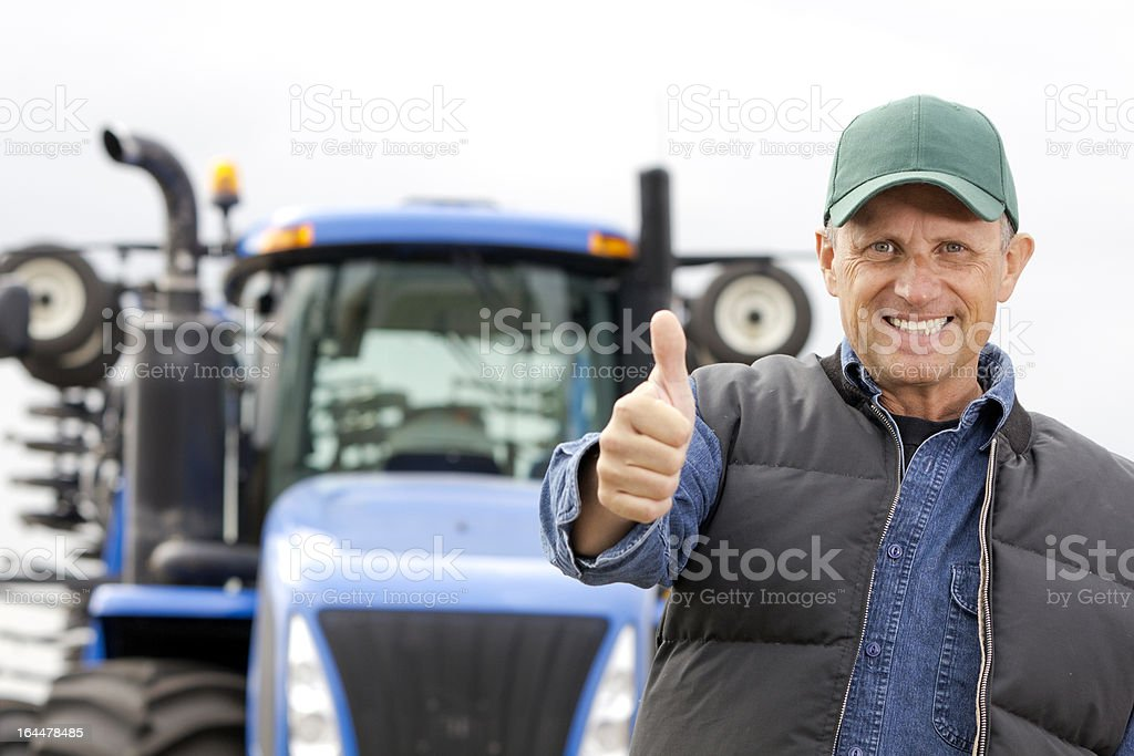 Successful Farming royalty-free stock photo