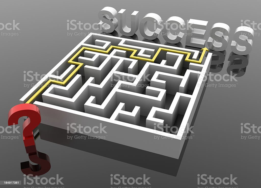 Successful game royalty-free stock photo