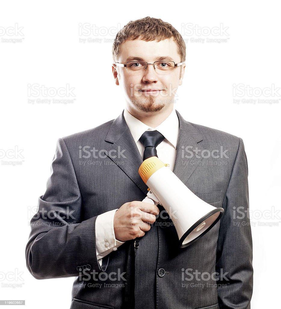 Exitoso hombre de negocios joven feliz foto de stock libre de derechos