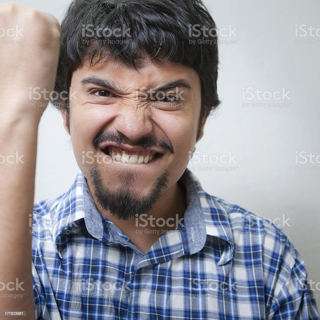 Successful happy young man royalty-free stock photo