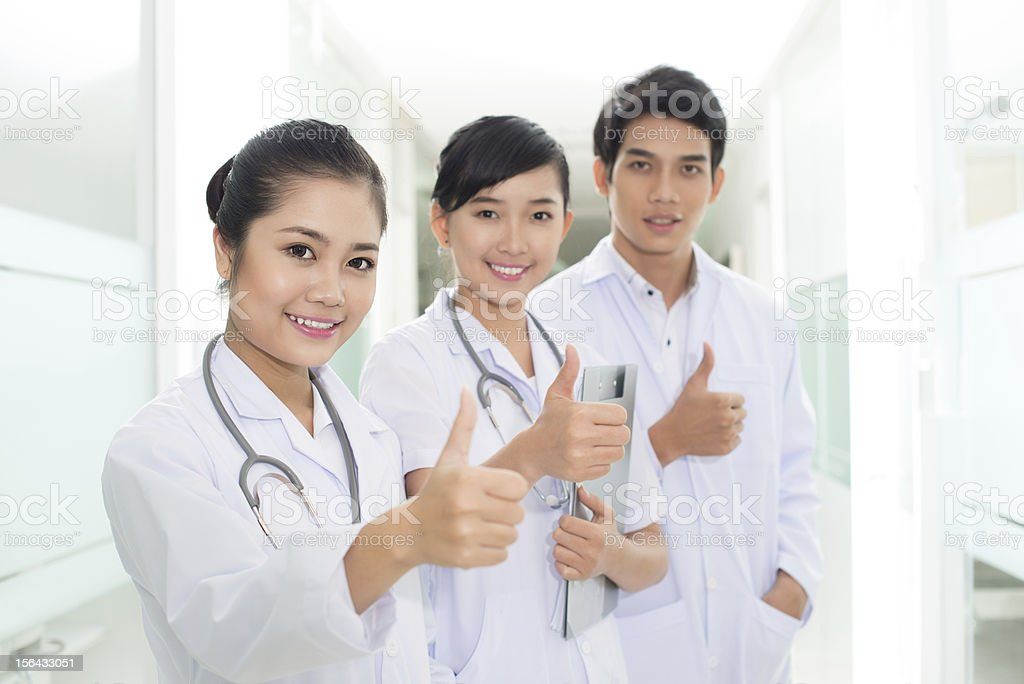 Successful health service royalty-free stock photo