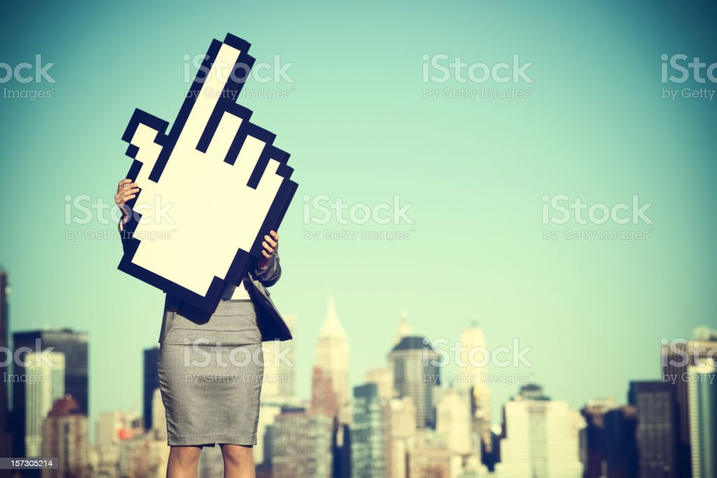 Successful internet business royalty-free stock photo