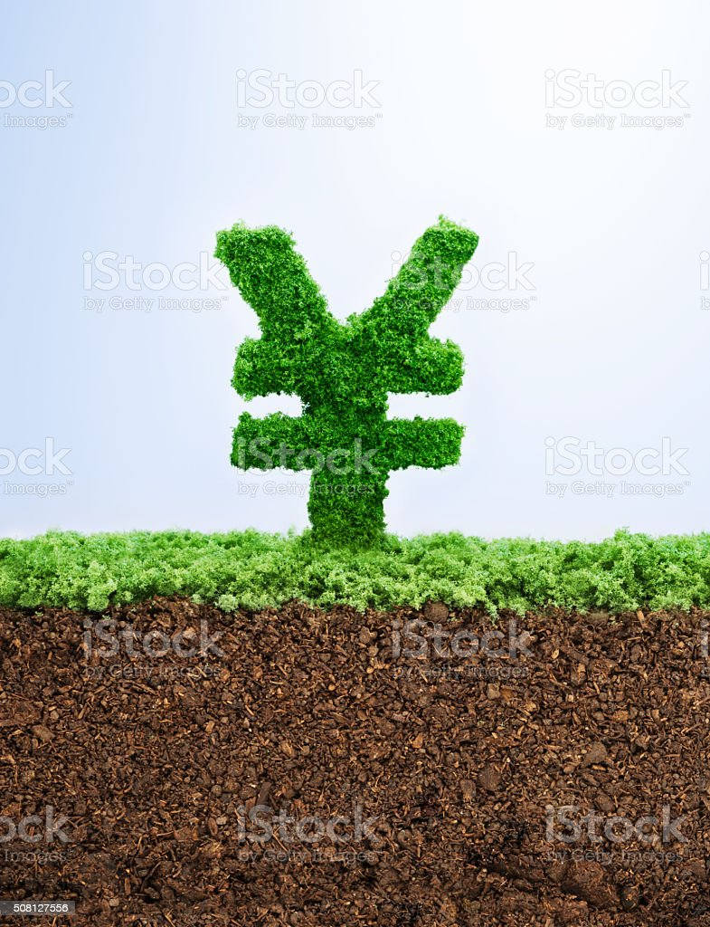 Successful investment concept stock photo