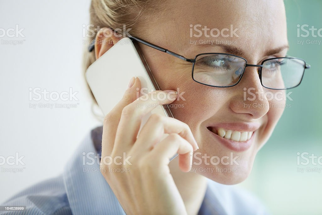 Successful lady royalty-free stock photo