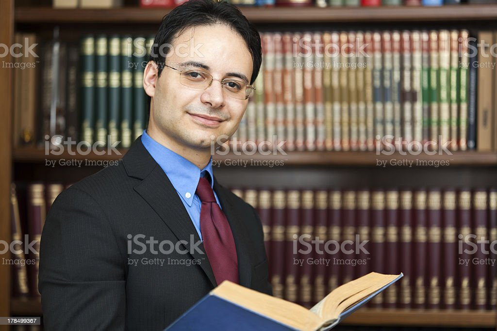 Successful lawyer portrait royalty-free stock photo
