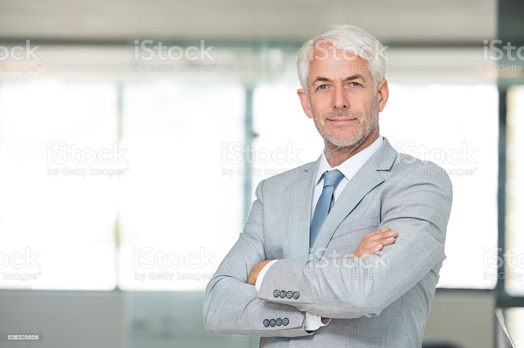 Successful leadership stock photo