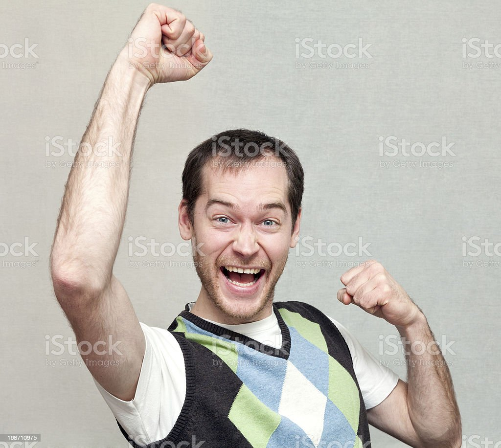 Successful Man royalty-free stock photo