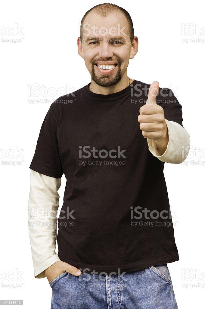 successful man stock photo