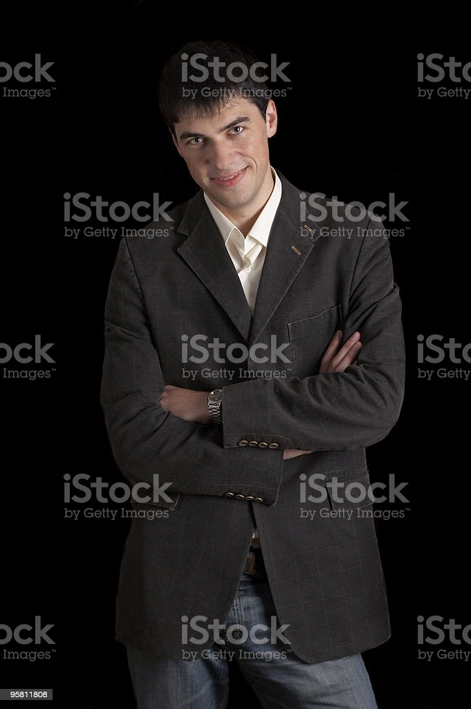 successful man royalty-free stock photo