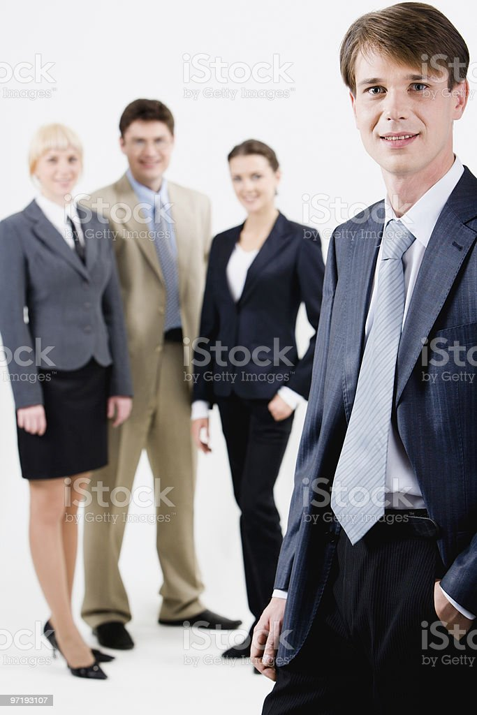 Successful manager royalty-free stock photo
