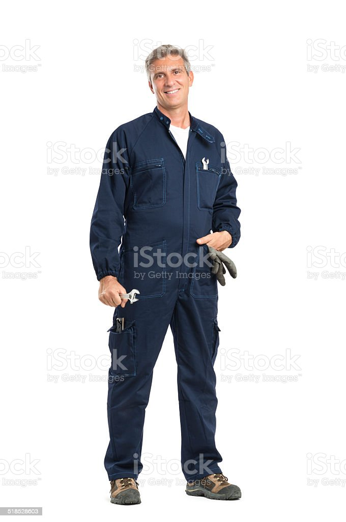 Successful Mechanic stock photo