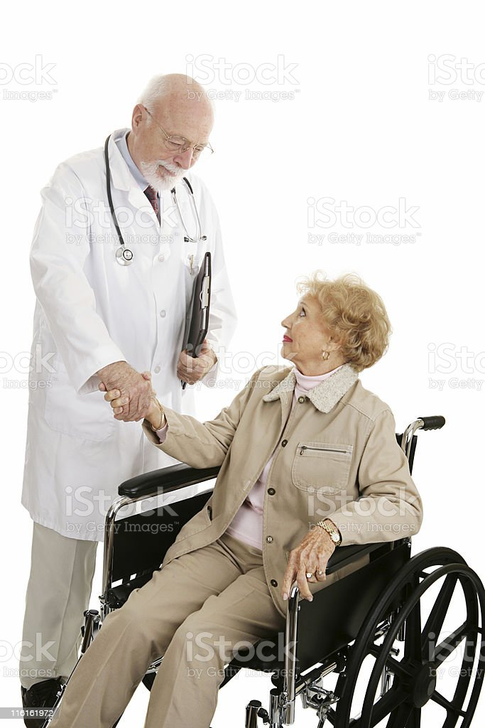 Successful Medical Treatment royalty-free stock photo