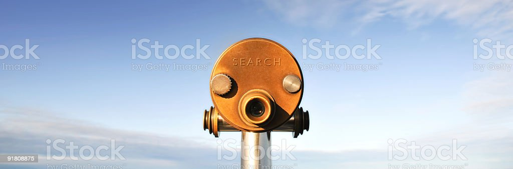 Successful Panoramic Search stock photo