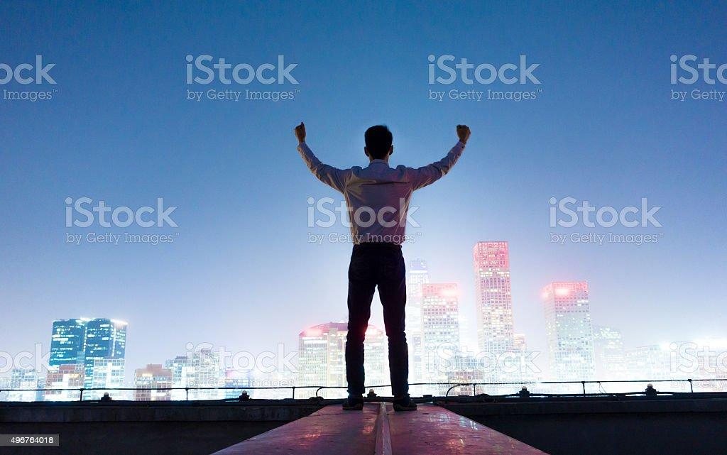 Successful stock photo