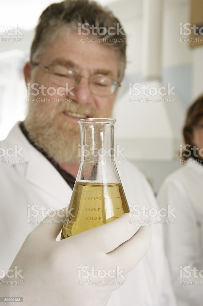 Successful Research royalty-free stock photo