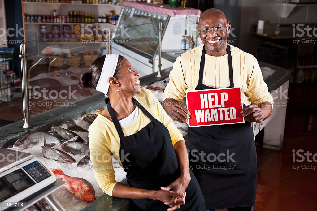 Successful small business, hiring stock photo