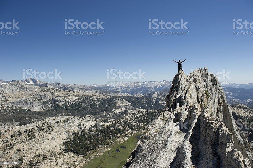 Successful Summit royalty-free stock photo