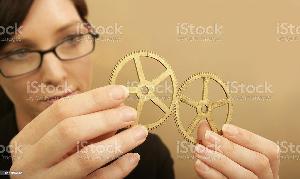 Successful Teamwork royalty-free stock photo