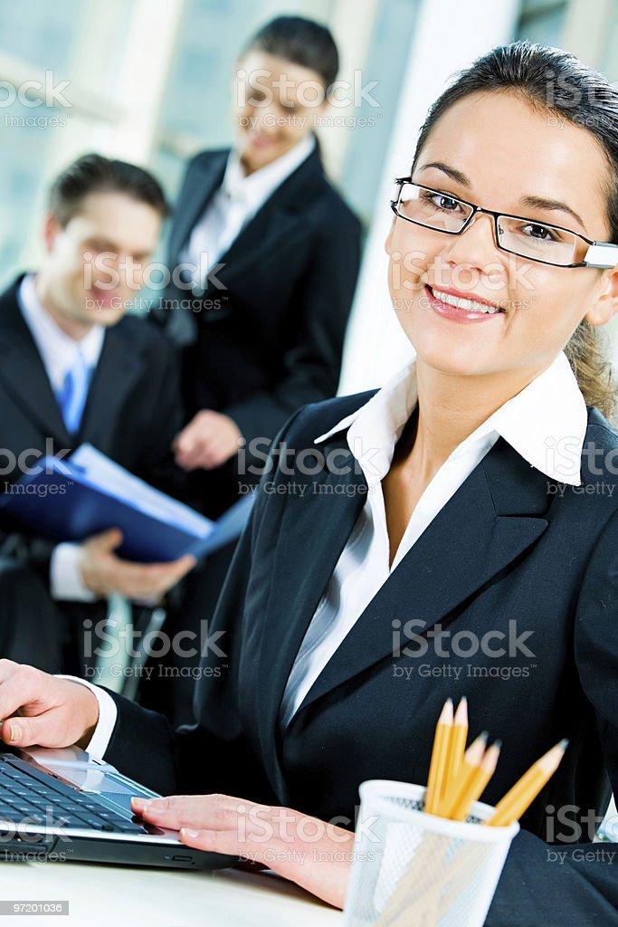 Successful woman stock photo