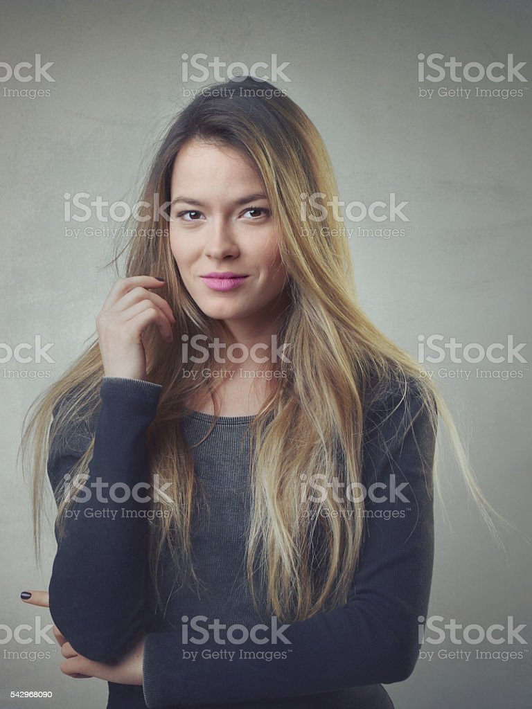 Successful women portrait stock photo