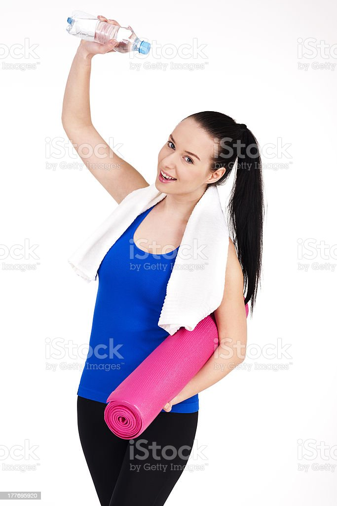 Successful workout royalty-free stock photo