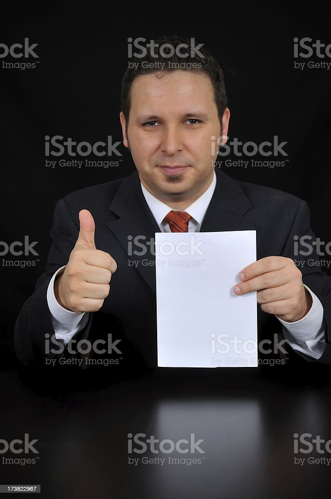 Successful Works royalty-free stock photo