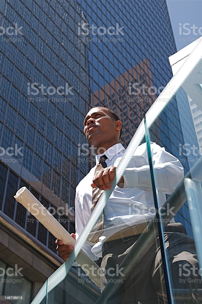 Successful Young Architect royalty-free stock photo