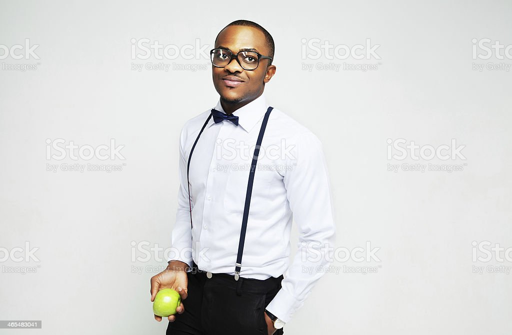 Successful young man stock photo