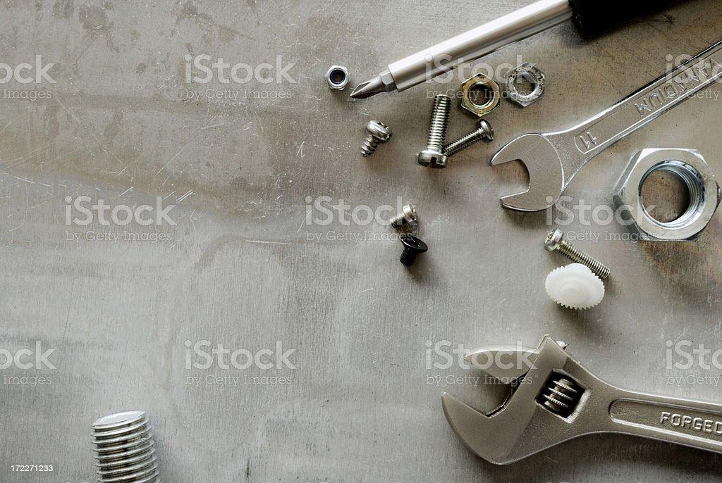 Successfull repair royalty-free stock photo