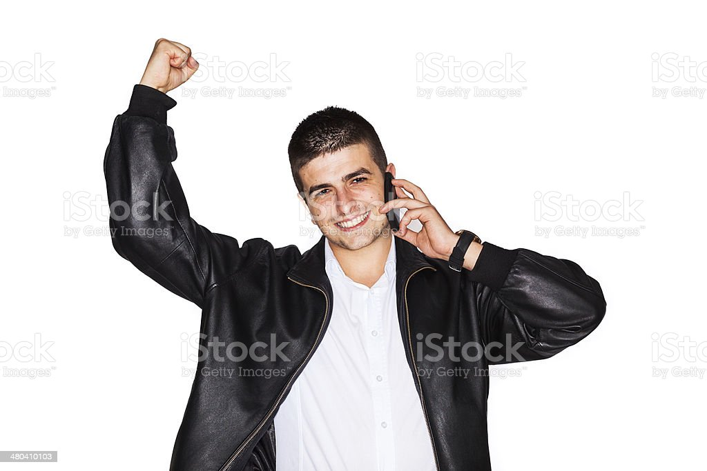 Successfull young entrepreneur royalty-free stock photo