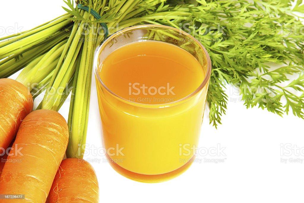 succo di carote royalty-free stock photo