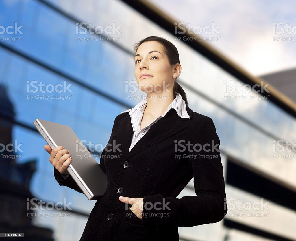 Sucessful Businesswoman royalty-free stock photo