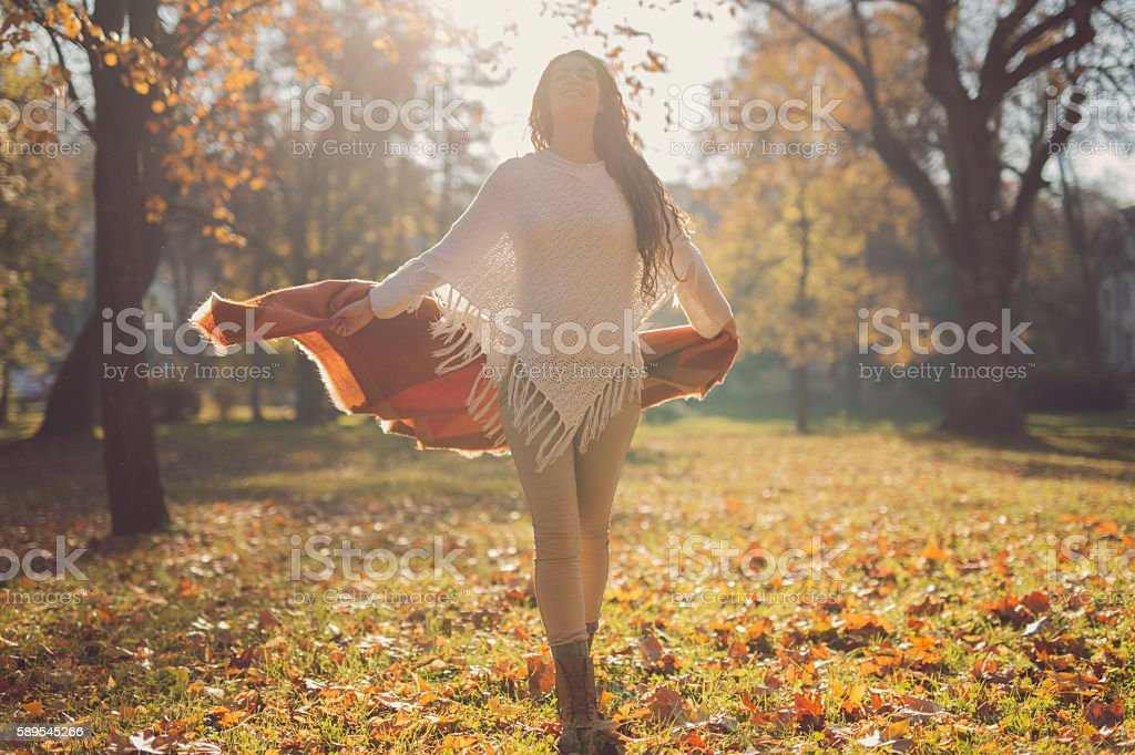 Such a wonderful day! stock photo