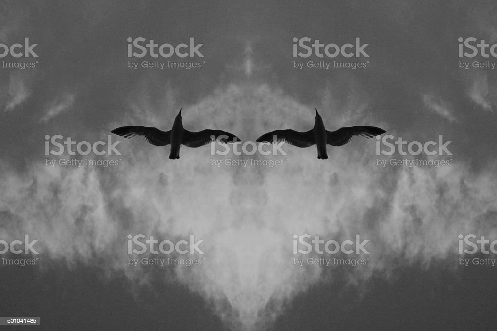 Such As Rorschach Test stock photo