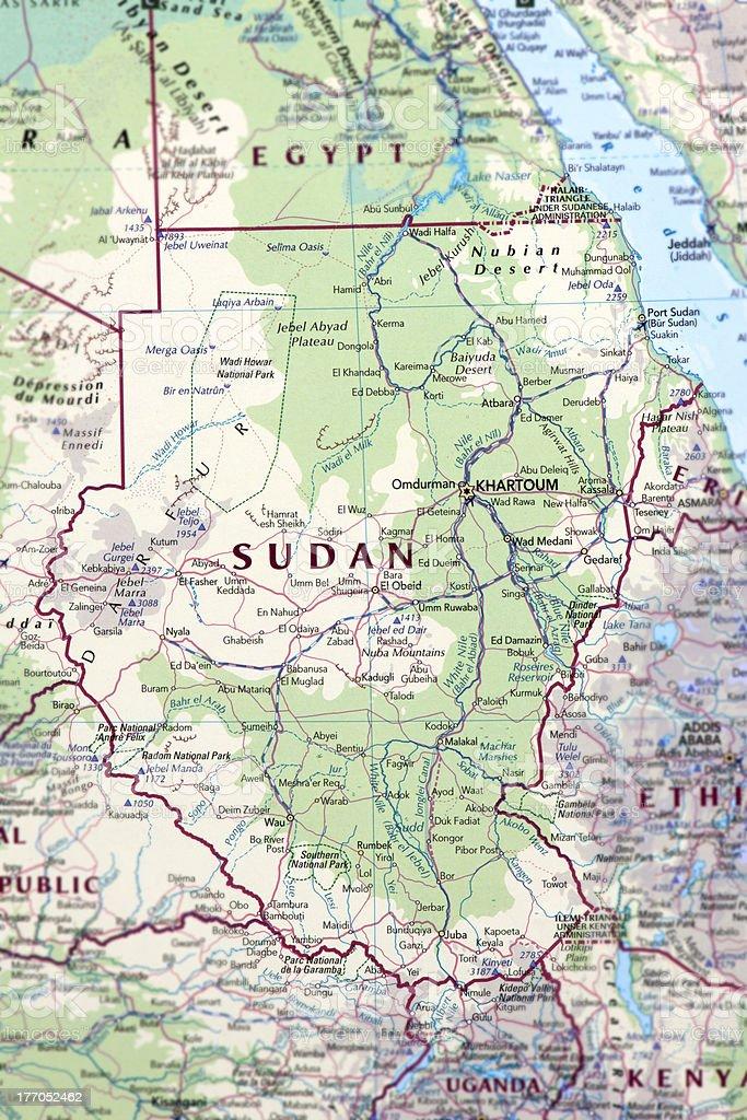 Sudan royalty-free stock photo