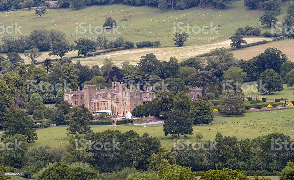Sudeley Castle near Winchcombe, Cotswolds, Gloucestershire, UK stock photo