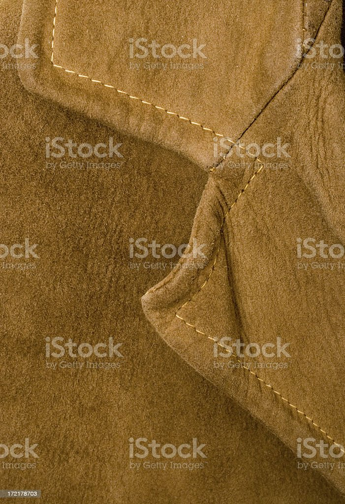 Suede collar royalty-free stock photo