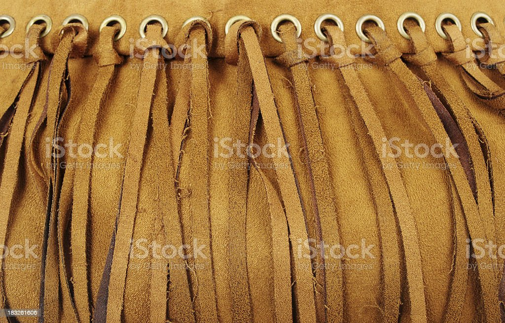 Suede Fringes stock photo
