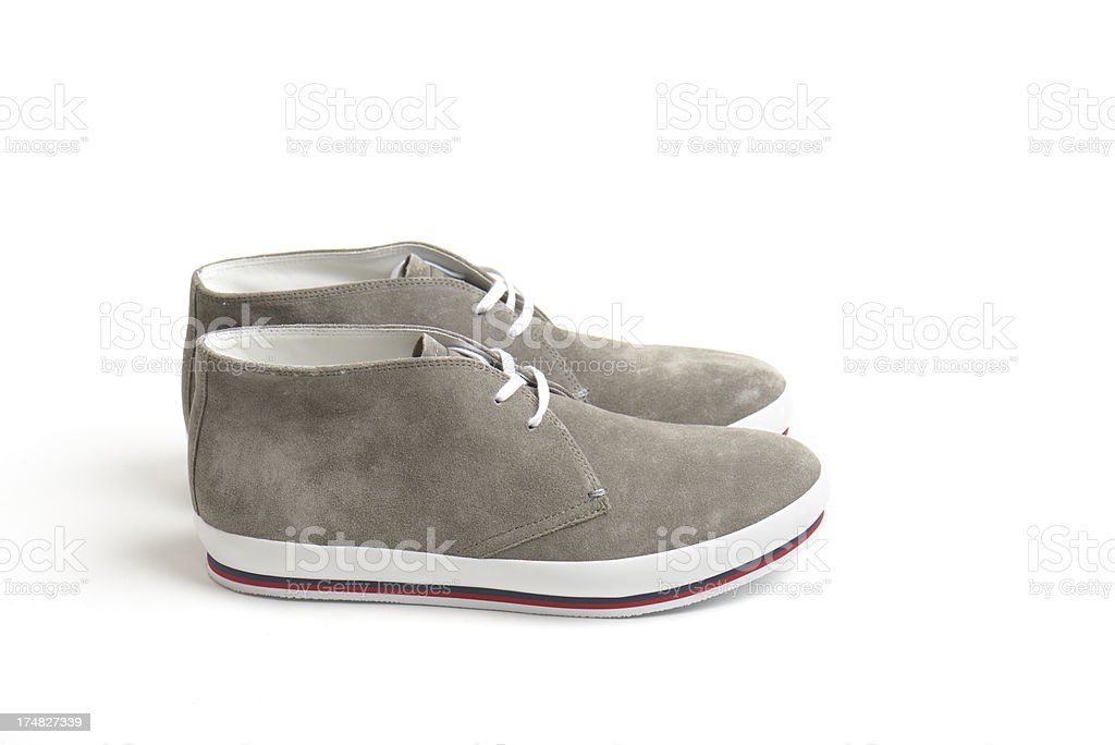 Suede Shoes royalty-free stock photo