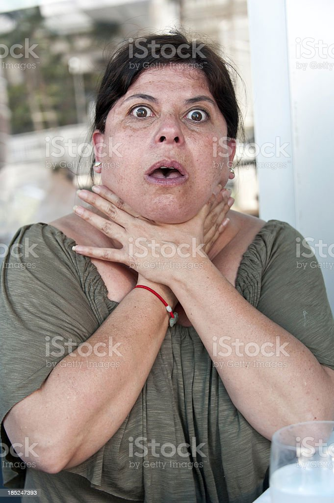 suffocation stock photo