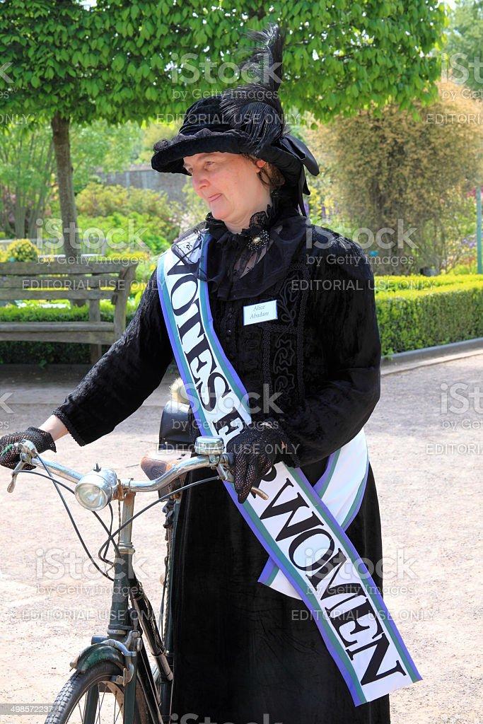 Suffragette stock photo