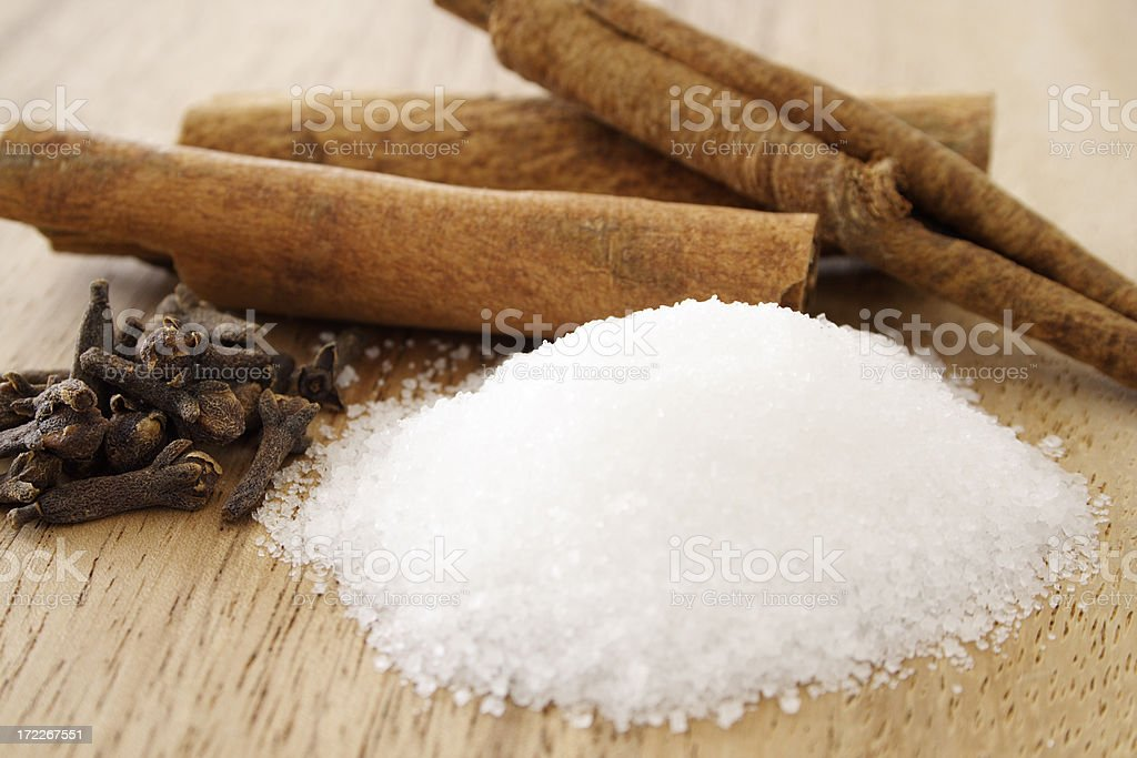 Sugar and spice royalty-free stock photo