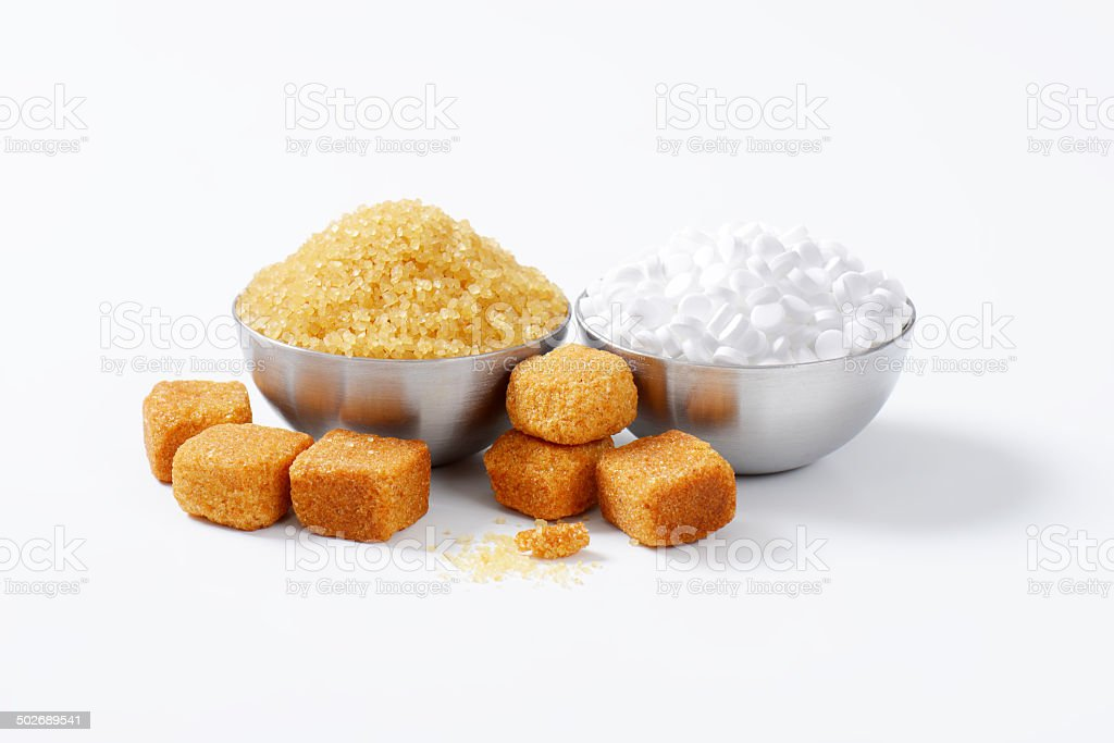 sugar and sweetener royalty-free stock photo