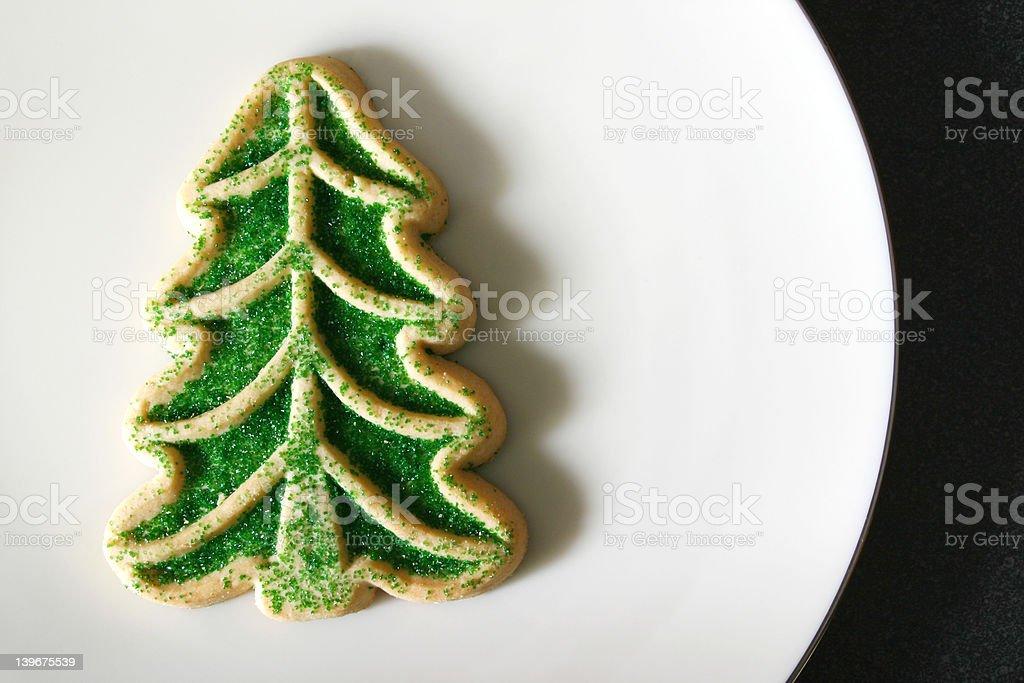 Sugar Cookie Christmas Tree royalty-free stock photo