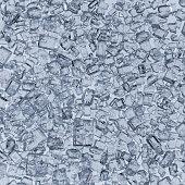 sugar crystals closeup