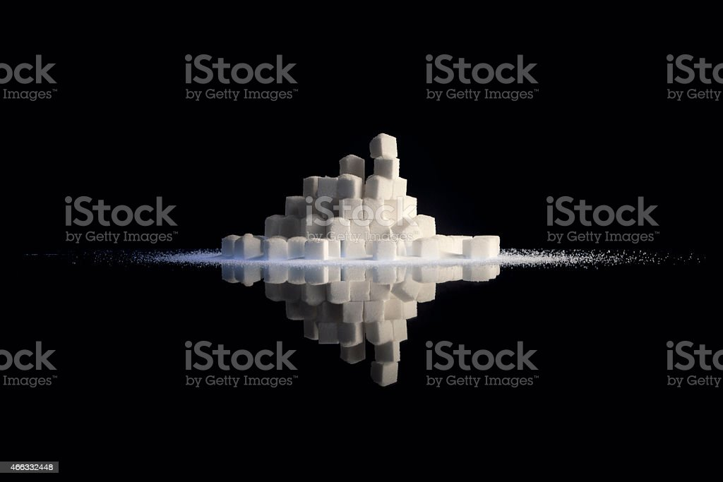 Sugar Explosion stock photo