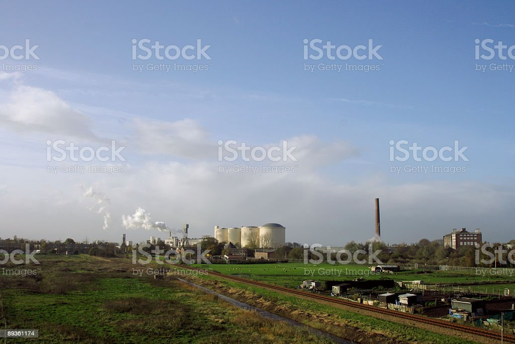 Sugar factory in The Netherlands royalty-free stock photo